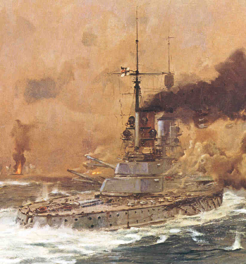 Battleships at Jutland